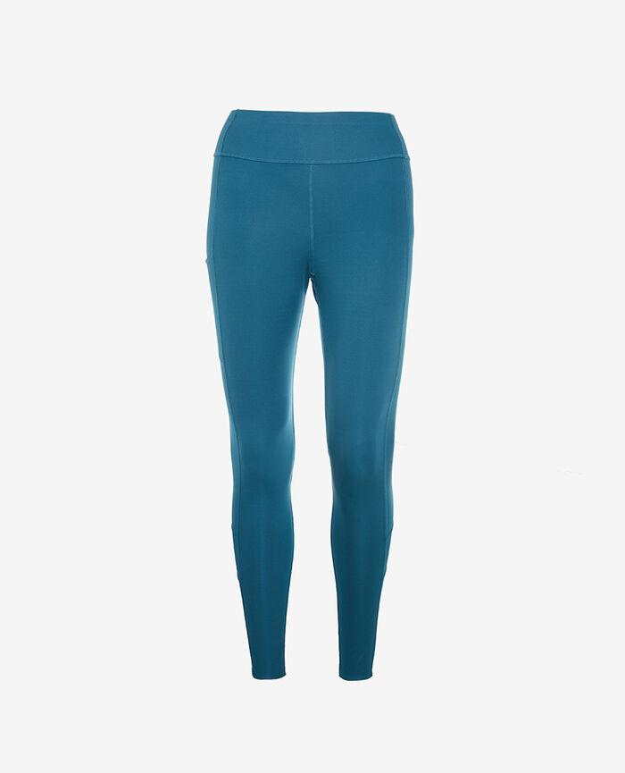 Legging de running galbant long Bleu jazz Run jersey