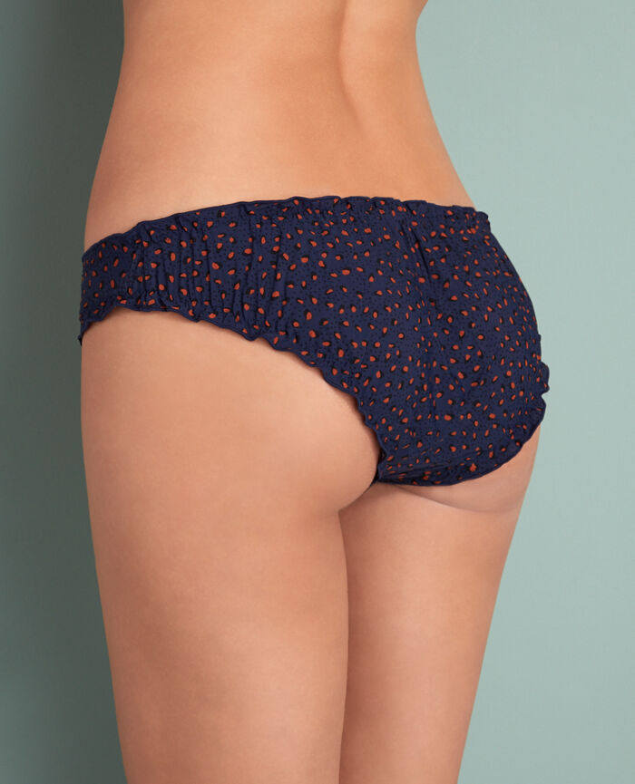Culotte fantaisie Léopard bleu Take away