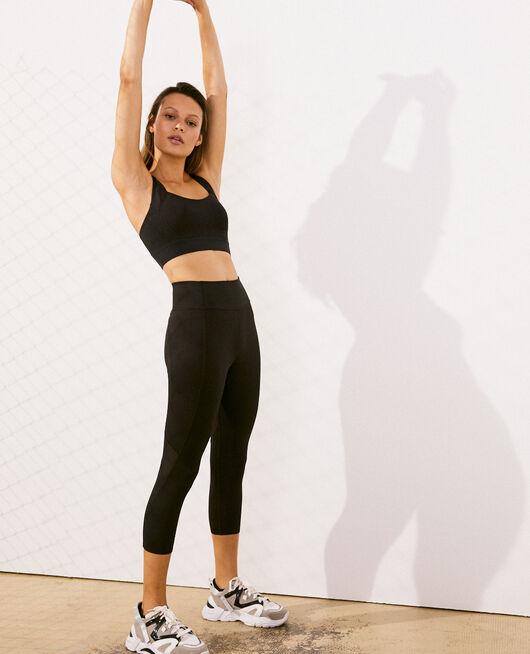 Short running legging Black Run