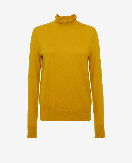 Turtle-neck jumper Absinthe yellow Icone