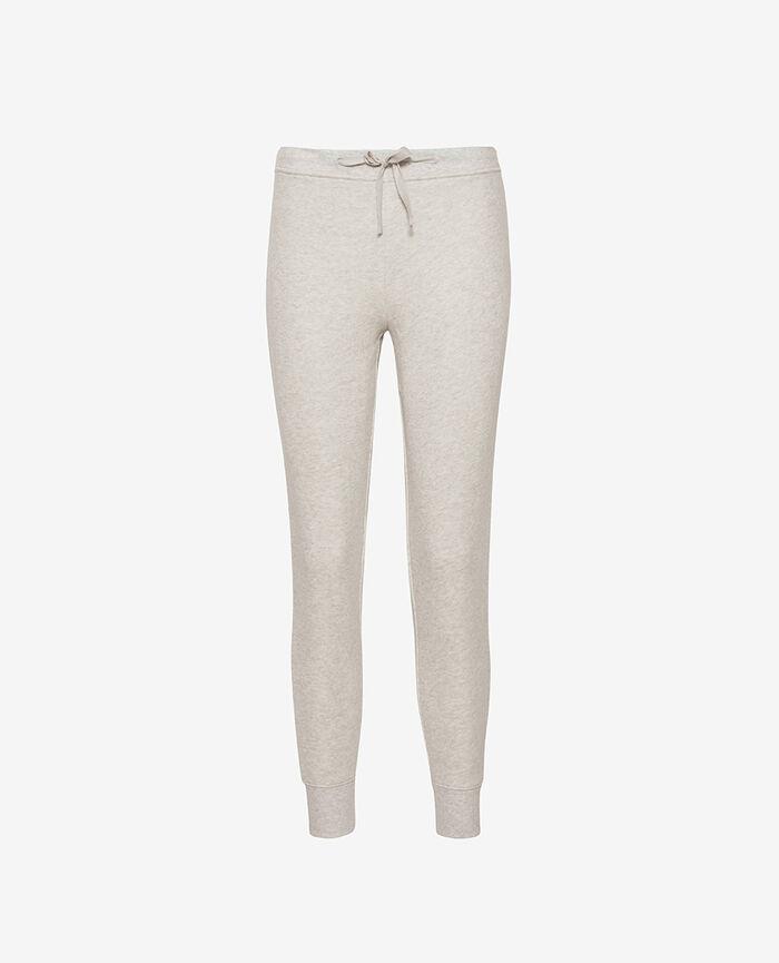 Jogging pants Light grey flecked Doudou