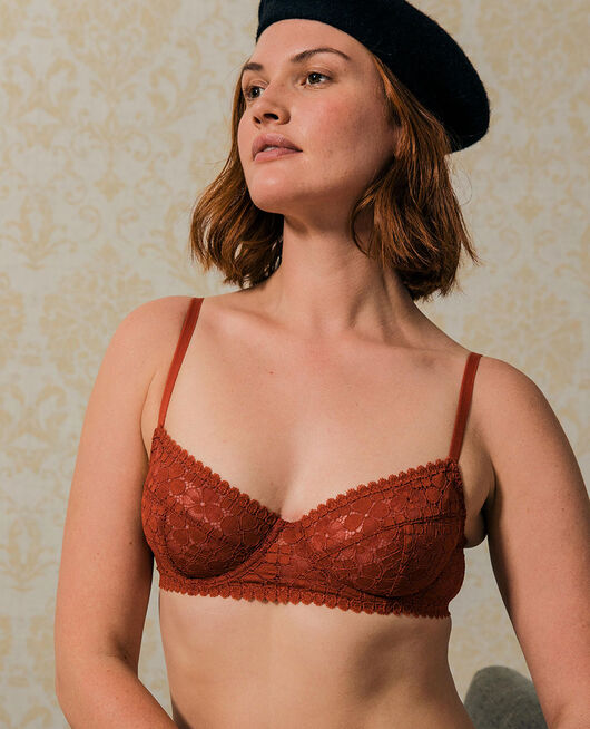 Underwired bra Terracotta brown Josephine