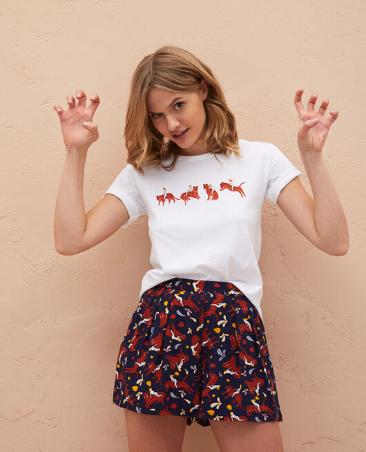 Short-sleeved t-shirt Agathe leo Feline