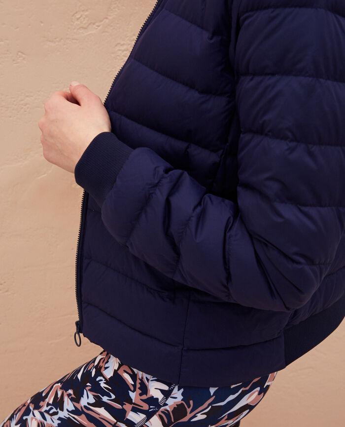 Doudoune manches amovibles Bleu marine Ultra light