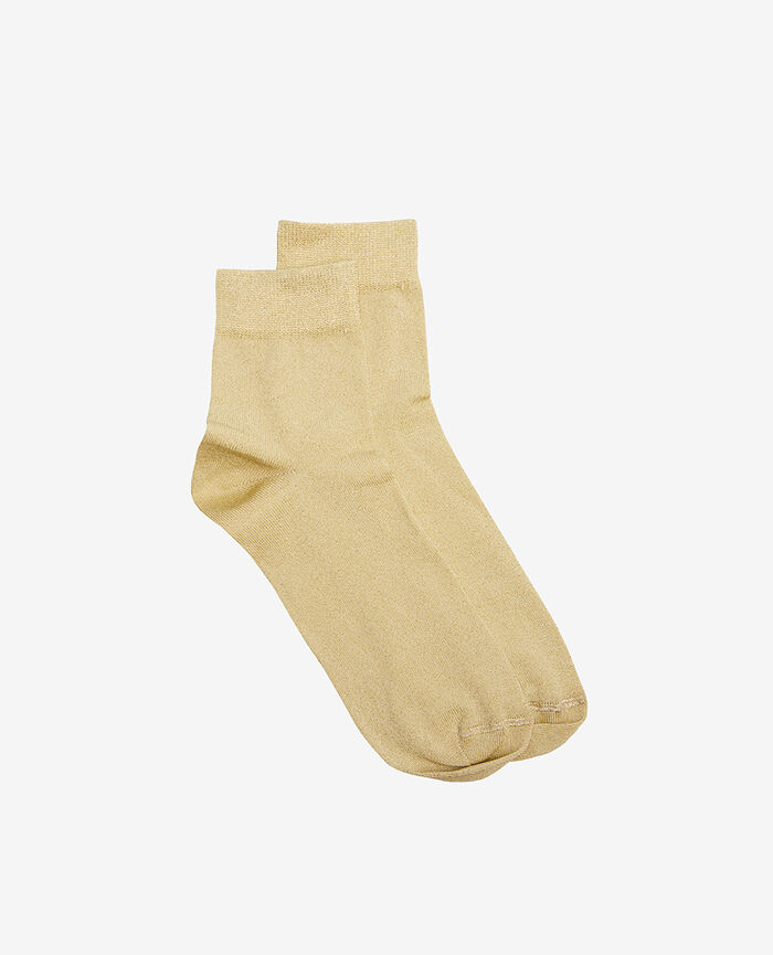 Socks Swan yellow Glow
