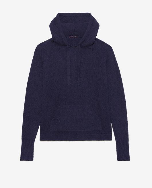 Sweatshirt with hoodie Navy Vip