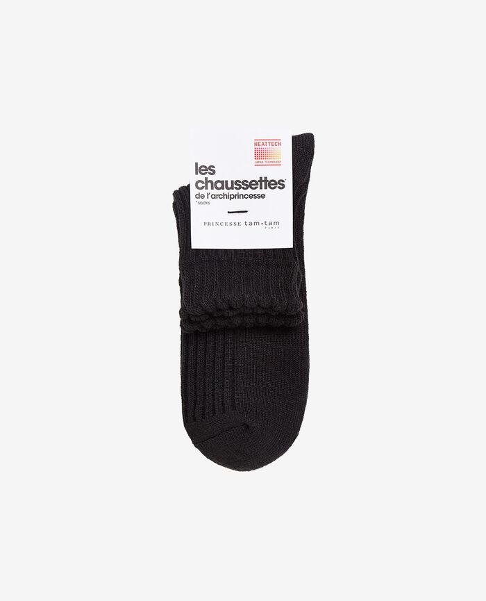 Socks Black Infinity