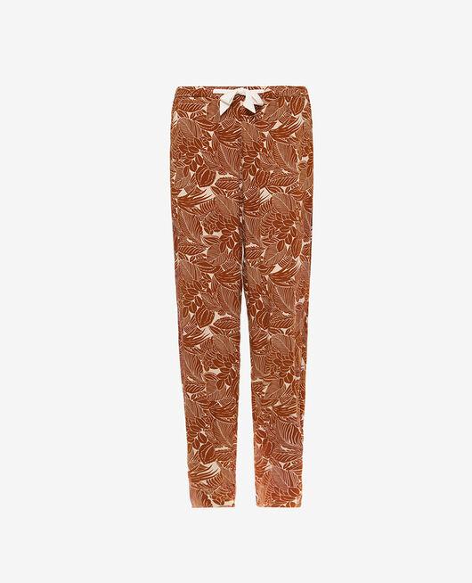 Pantalon Botanic bronze Fresque