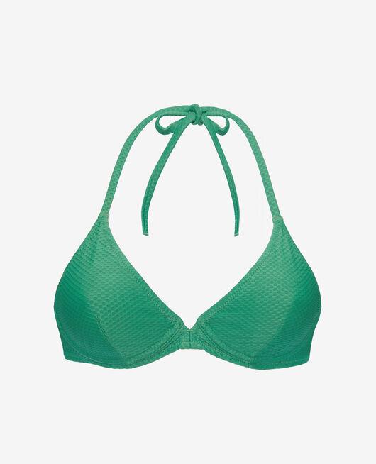 Maillot de bain triangle avec armatures Vert menthe Farah