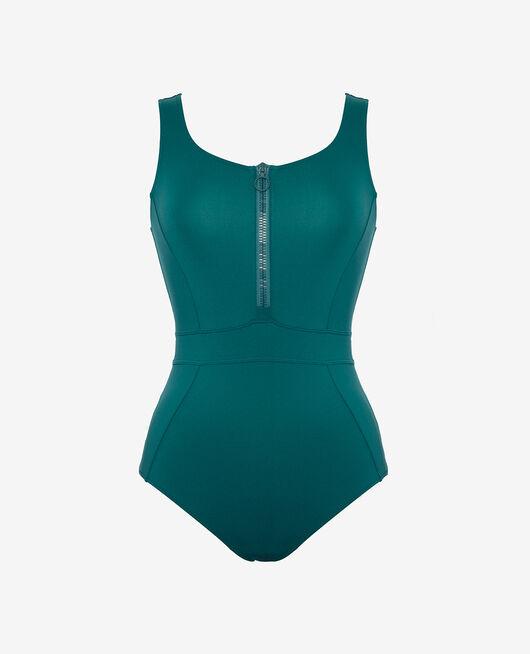 Maillot de bain une pièce de sport Vert mezcal Aqua