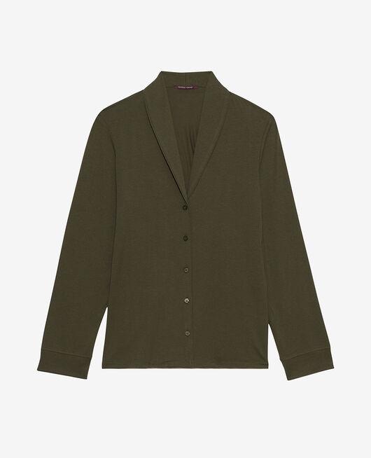 Pyjama jacket Moss green Paresse
