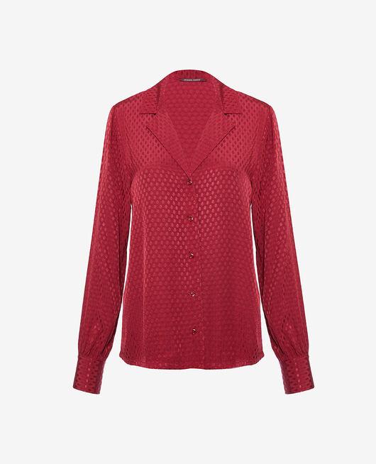 Pyjama jacket Camelia red Boudoir
