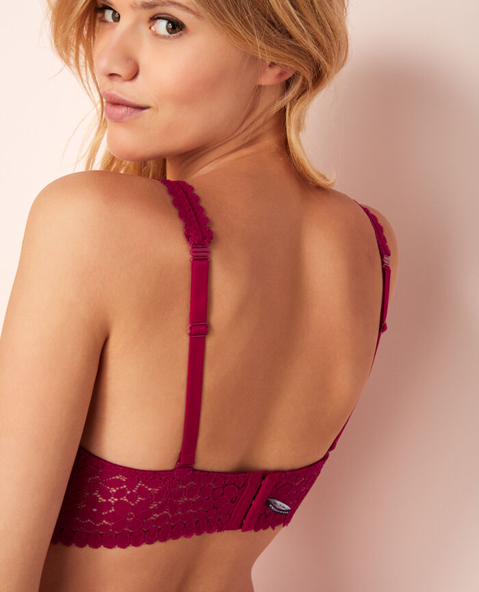 Backless triangle bra multi-position Mariachis violet Monica