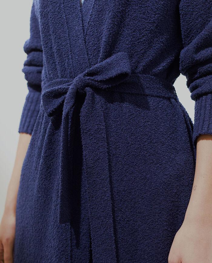 Veste longue Bleu marine Vip