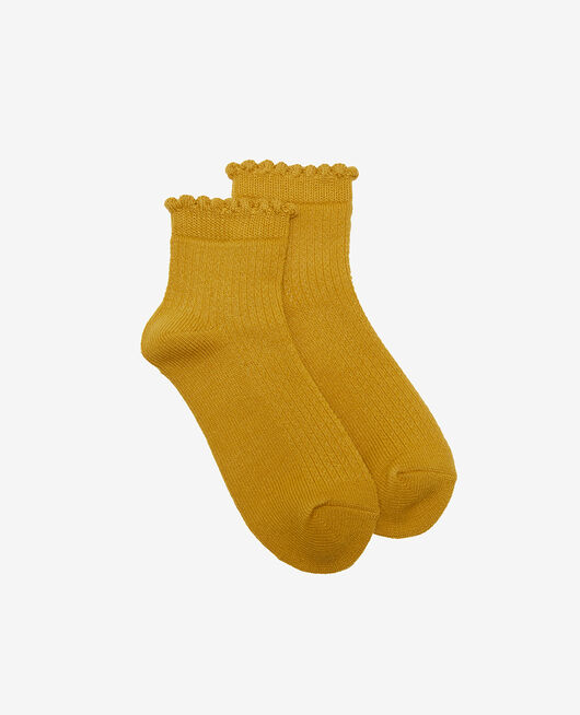 Socks Absinthe yellow Ballet