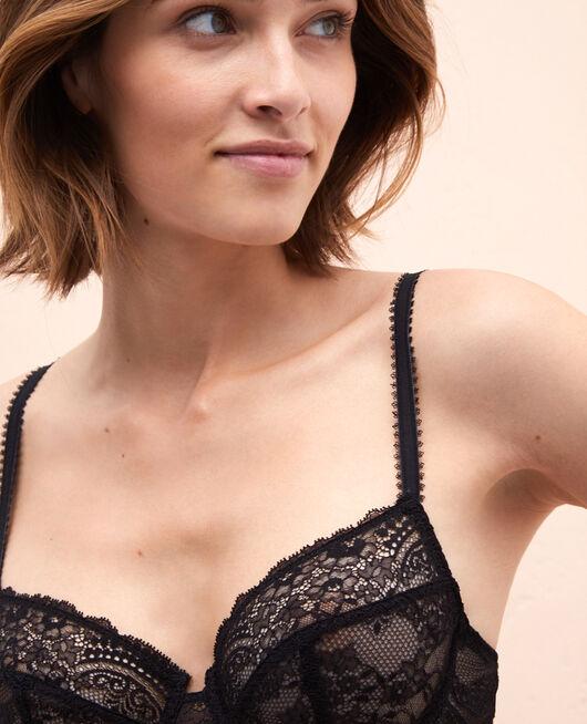 Half-cup bra Black Esquisse