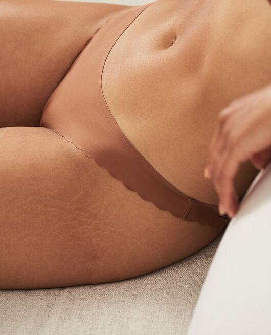 Culotte taille basse Brun muscade Secret