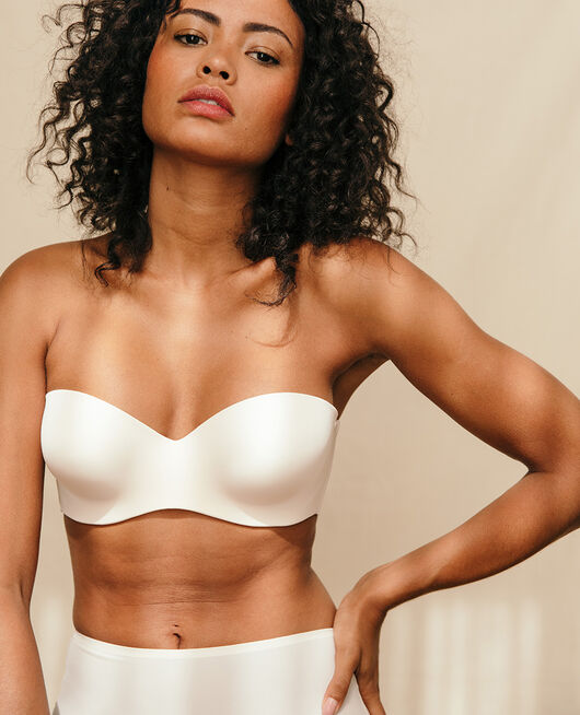 Contour strapless bra Rose white Secret