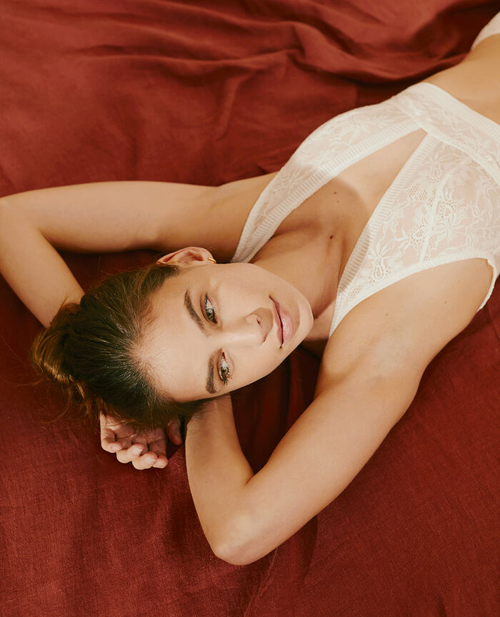 Wireless bralette Ivory Audacieusement - the take it easy