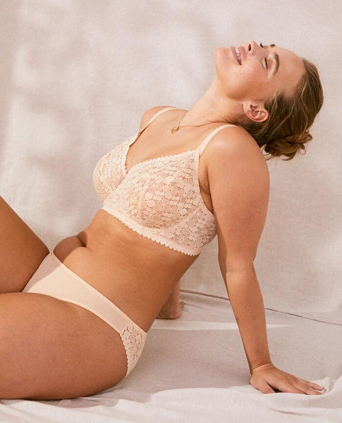 Soutien-gorge avec armatures Beige nude Josephine