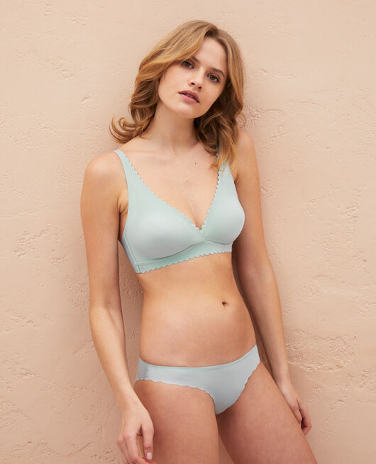 Soft cup bra Mosaic green Secret