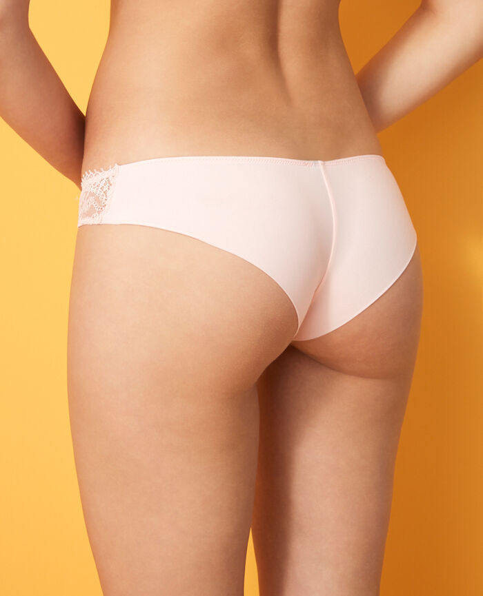 Brazilian briefs Pink Chantilly