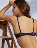 Soutien-gorge triangle avec armatures Bleu marine Josephine