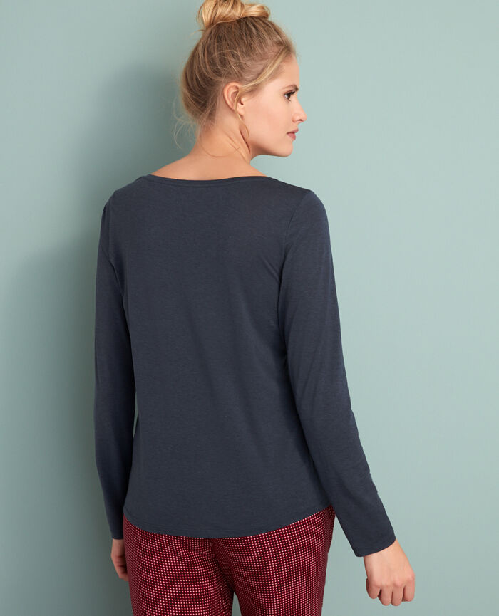 Long-sleeved t-shirt Subway grey Latte