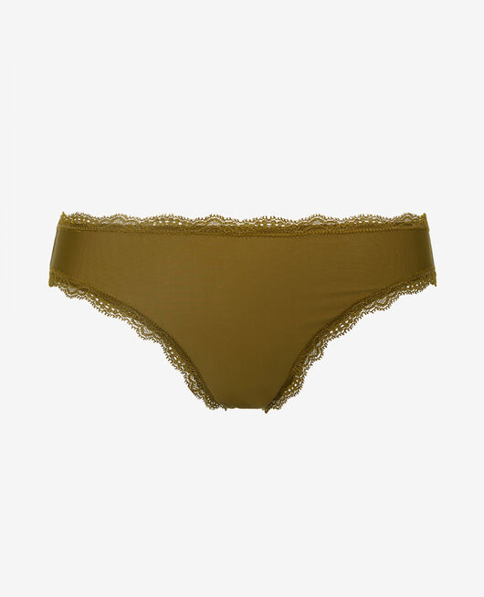 Culotte taille basse Vert bowie Take away