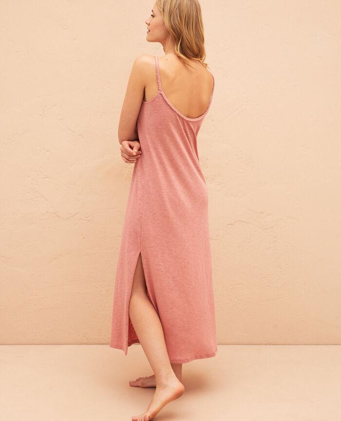 Robe longue Beige dune Argan