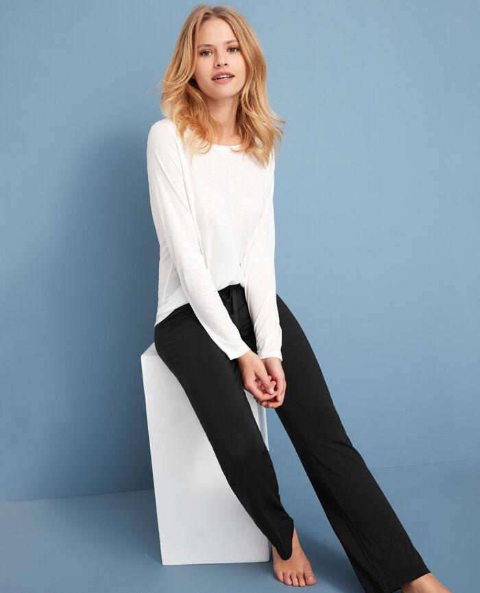 Long-sleeved t-shirt Ivory Latte