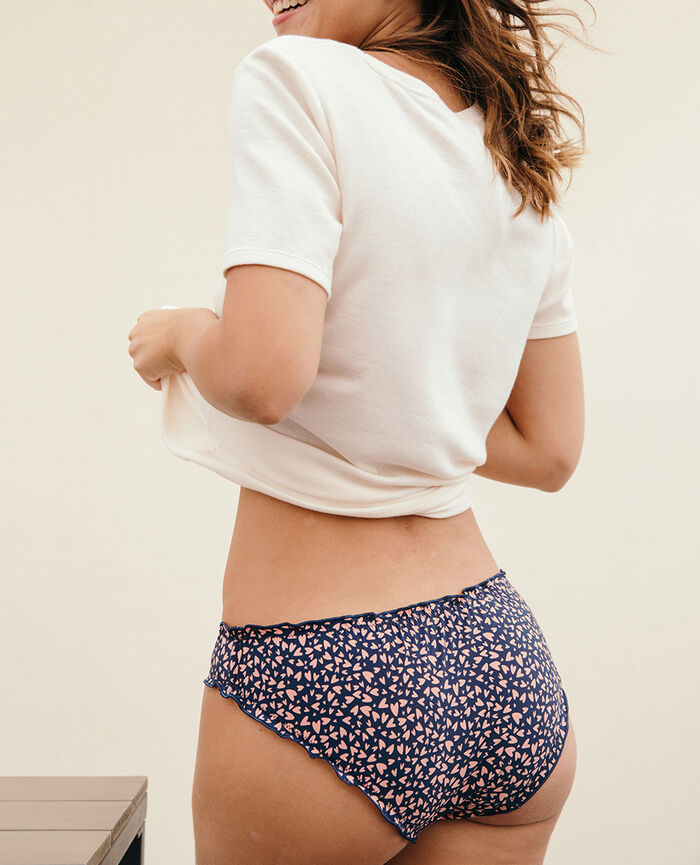 Printed briefs Abyss heart Take away