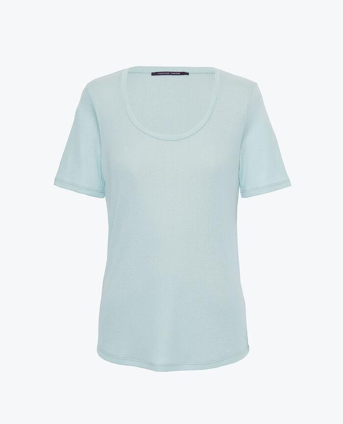 Short sleeve t-shirt Mosaic green Latte