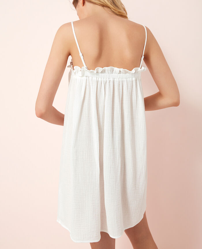 Dress White Caliente