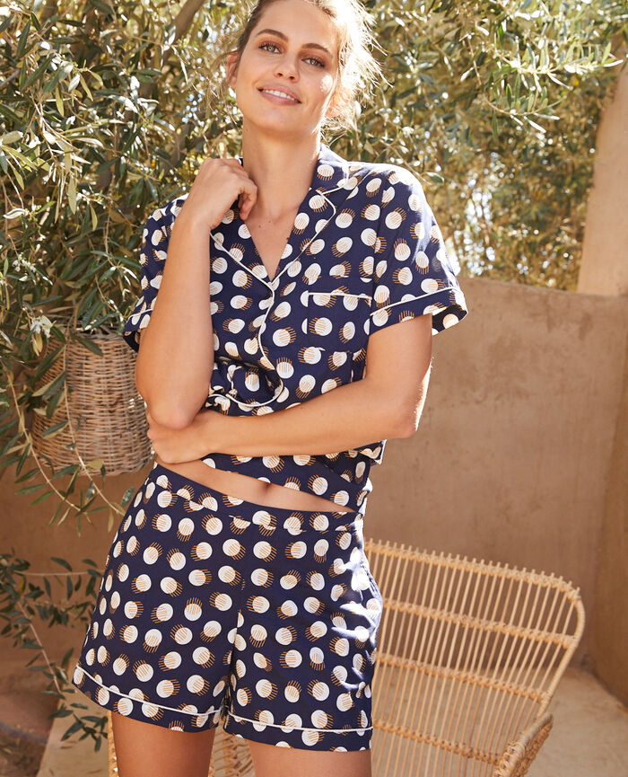 Pyjama set Dot navy blue Tutti frutti