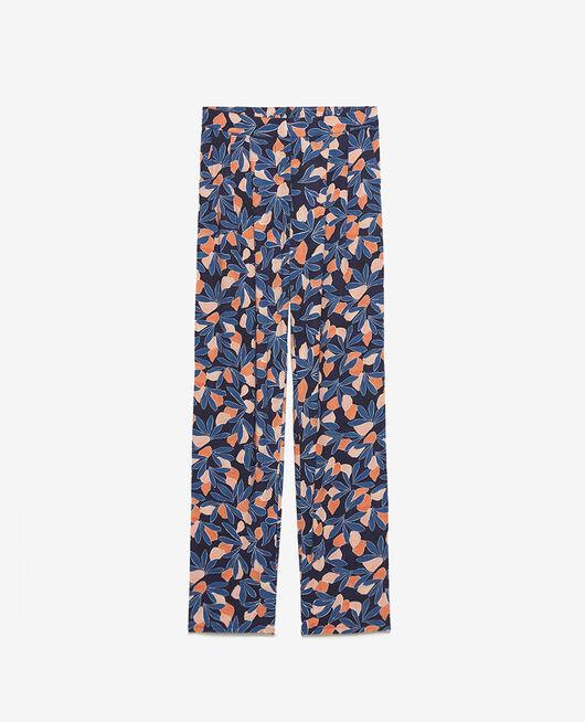 Trousers Storm blue watercolour Attitude imprime