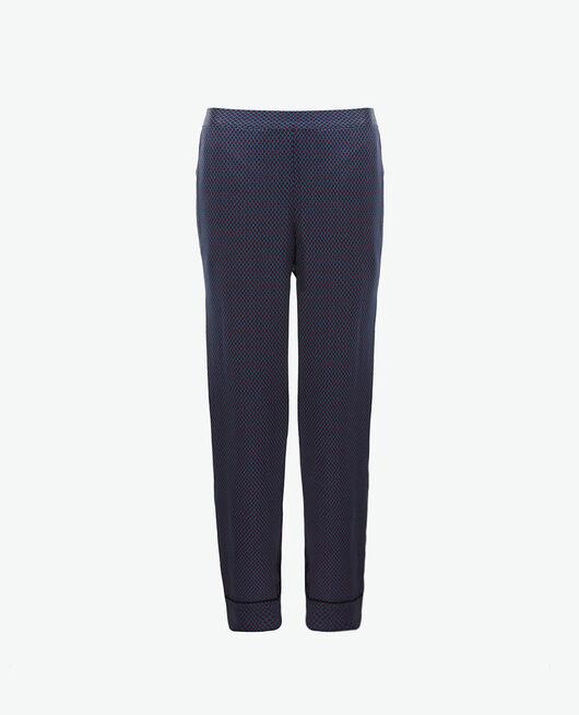 Pantalon Pois bleu Aurore
