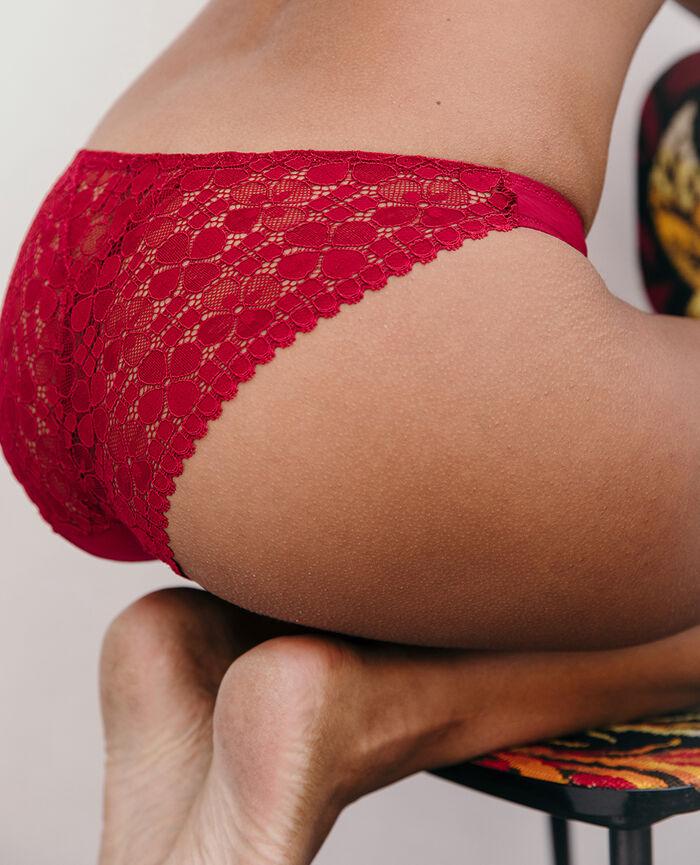 Hipster briefs Camelia red Josephine