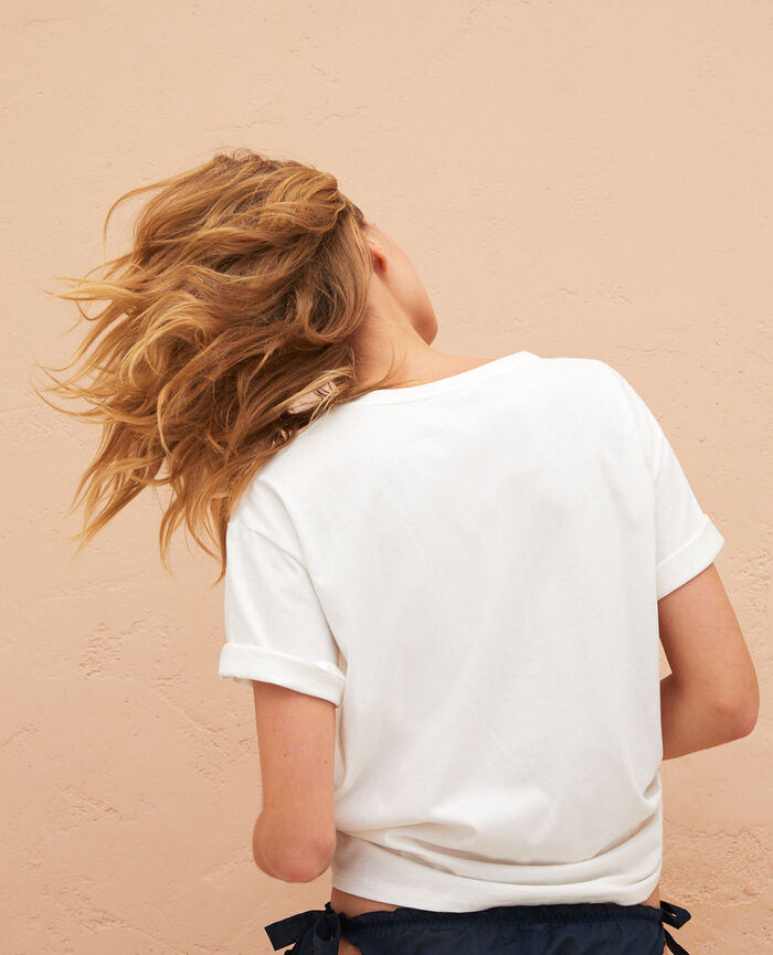 T-shirt manches courtes Orangers Summer