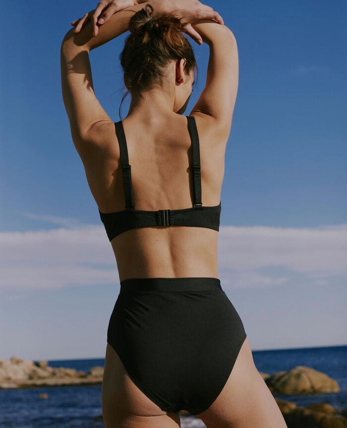 Soft triangle bikini top Black Impala - the feel good
