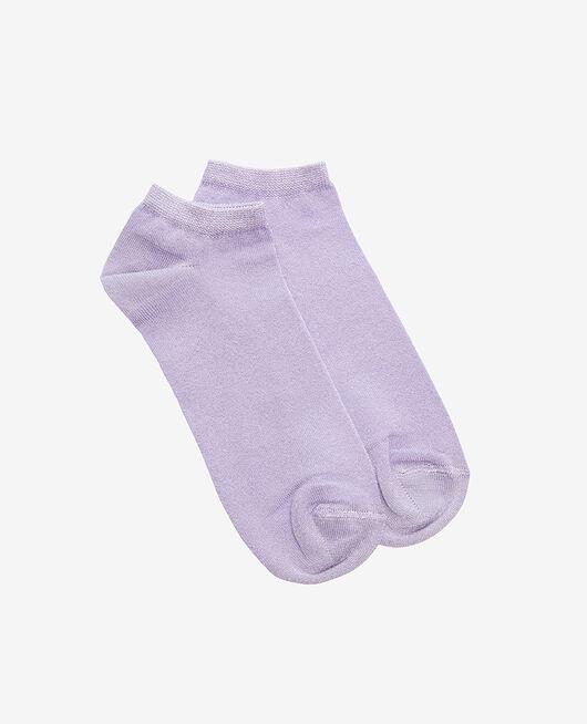 Chaussettes basses Violet pourpre Galaxie