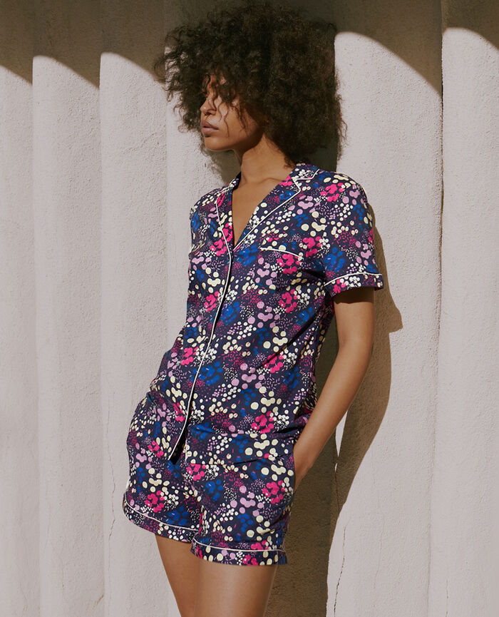 Set pyjama Confetti bleu marine Tutti frutti