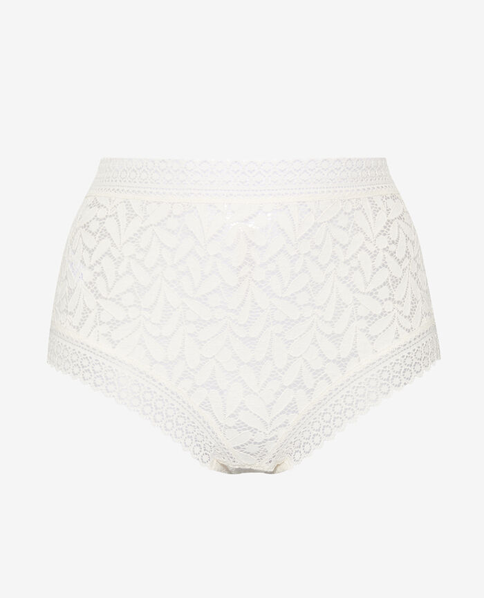 High-waisted briefs Rose white Evidence
