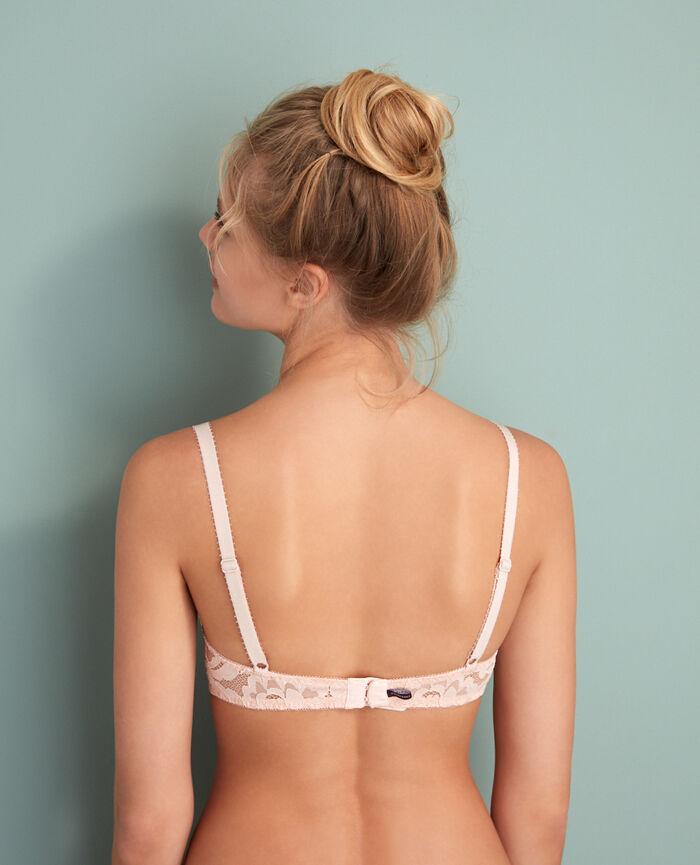 Soutien-gorge corbeille Rose glace Angelina