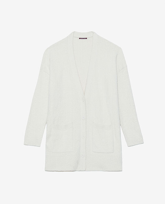 Long bathrobe Rose white Vip