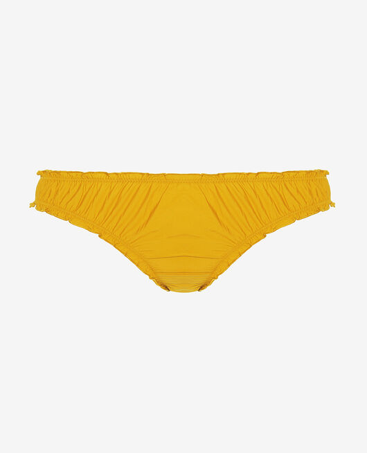 Culotte froufrou Jaune moutarde Take away