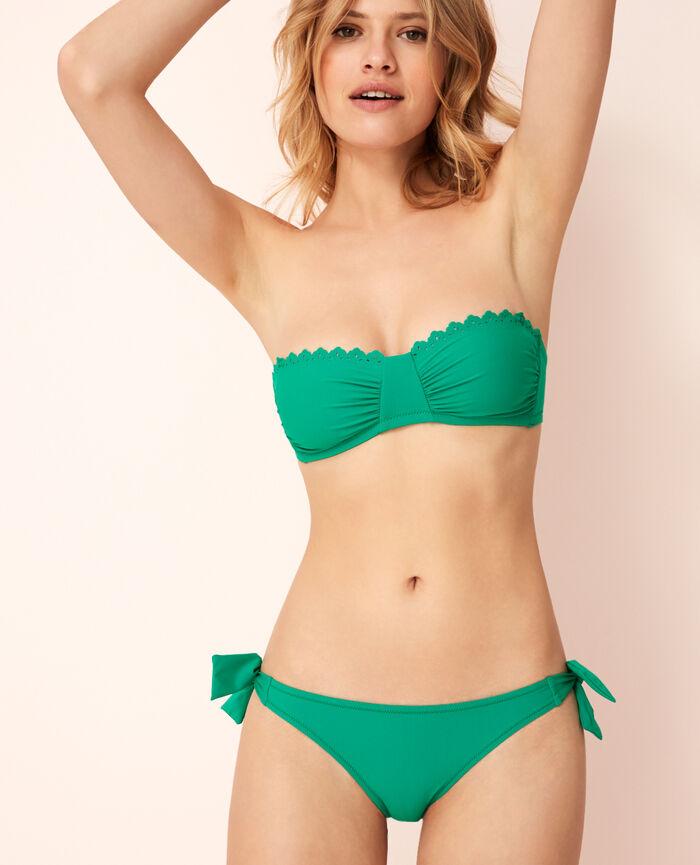 701bd11ada7d6 Strapless bikini top Casa green - Andrea