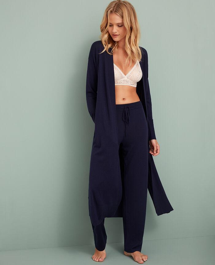 Cardigan manches longues Bleu manhattan Extra