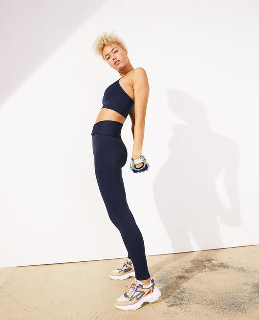 Legging de sport Bleu marine Yoga