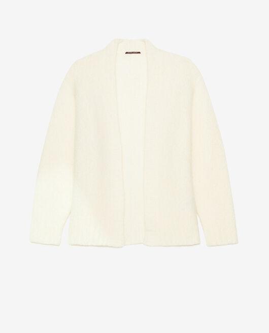 Long-sleeved cardigan Ivory Nuage